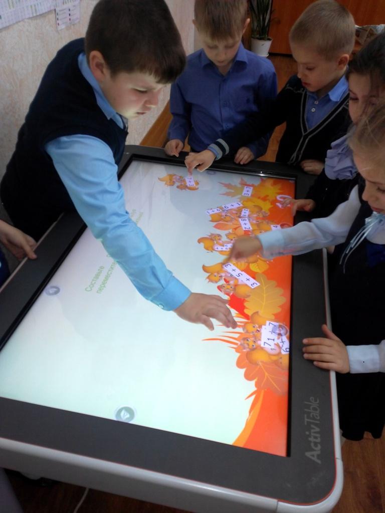 Использование интерактивной доски в 1 классе по математике состав первого десятка1класс