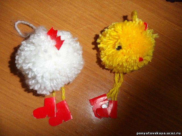 Вот такие замечательные цыплята!